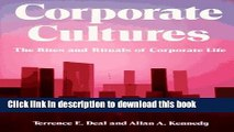 [Read PDF] Corporate Cultures: The Rites And Rituals Of Corporate Life Ebook Online