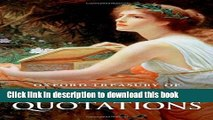 Ebook Oxford Treasury of Sayings and Quotations Full Online