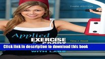 Books Applied Exercise and Sport Physiology, with Labs Free Online