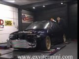 Illegal street racing Nissan Skyline R33 1000HP Dyno