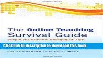 Books The Online Teaching Survival Guide: Simple and Practical Pedagogical Tips Full Online Free