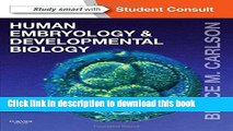 Books Human Embryology and Developmental Biology: With STUDENT CONSULT Online Access, 5e Full