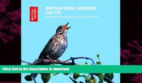 READ book  British Bird Sounds on CD (British Library - British Library Sound Archive) READ ONLINE