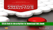 [Read PDF] Effective CRM using Predictive Analytics Download Online