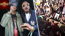 Railing COLLAPSED During Snoop Dogg & Wiz Khalifa Concert | Hollywood Asia