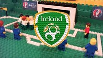 Euro 2016   France vs Ireland 2 1 Lego Football Goals and Highlights  France    low