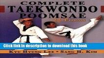 Ebook Complete Taekwondo Poomsae: The Official Taegeuk, Palgawe and Black Belt Forms of Taekwondo