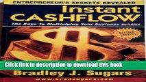 [Read PDF] Instant Cashflow : The Keys to Multiplying Your Business Profits (Entrepreneur s