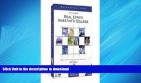 FAVORIT BOOK Dolf de Roos  Real Estate Investor s College - Real Estate Inversting For Everyone!