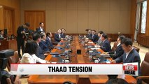 President Park criticizes opposition lawmakers' China visit, asks for unity on THAAD issue