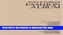 Download Dolce   Gabbana: Fashion Album E-Book Online