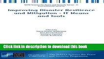 Download  Improving Disaster Resilience and Mitigation - IT Means and Tools (NATO Science for