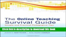 [Popular] Book The Online Teaching Survival Guide: Simple and Practical Pedagogical Tips Full