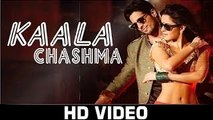 Kala-Chashma---Lyrics-Video--BaarBaarDekho--Sidharth