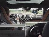 Mercdes AMG GT S - Top Speed
