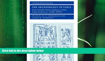 different   The Archaeology of Syria: From Complex Hunter-Gatherers to Early Urban Societies
