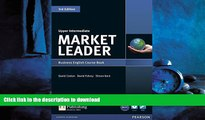 EBOOK ONLINE Market Leader Upper Intermediate Course Book with DVD-ROM READ NOW PDF ONLINE