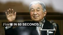FirstFT - Emperor Akihito signals abdication, Russia banned from Rio Paralympics