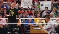 WWE RAW 7-11-11 CM Punk Vince (Mr) McMahon John Cena Segment Part 2 2_2