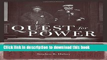[Popular Books] Quest for Power: European Imperialism and the Making of Chinese Statecraft