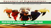 [Popular] Book Dynamics of Organizations: Computational Modeling and Organizational Theories Free