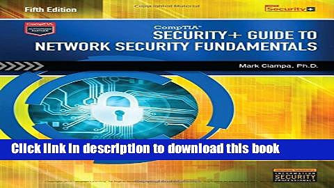 [Popular] Book CompTIA Security+ Guide to Network Security Fundamentals (with CertBlaster Printed