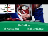 Men's -97 kg | 2016 IPC Powerlifting World Cup Dubai