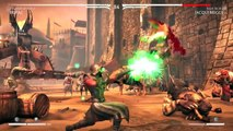 Mortal Kombat X - SPAWN, ALIEN & BATMAN DLC CHARACTERS-!