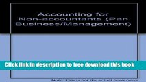 [Reading] Accounting for Non-accountants (Pan Business/Management) Ebooks Download
