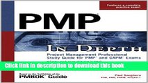 [Popular Books] PMP in Depth: Project Management Professional Study Guide for PMP and CAPM Exams