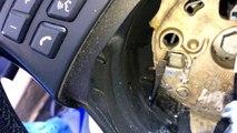 BMW 3 Series E90 Steering Wheel Airbag Remove