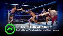 Sasha Banks slides on WWE Power Rankings- Aug. 6, 2016 -Dailymotion