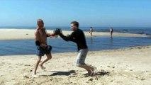 Punch pursuing drill KRB.lv Sport camp RMA Combat club Riga Latvia клуб Рукопашного Боя