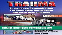 [Read PDF] Trauma: Resuscitation, Perioperative Management, and Critical Care Ebook Free