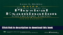 [Read PDF] Bates  Pocket Guide to Physical Examination and History Taking, International Edition