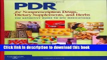 [PDF] PDR for Nonprescription Drugs, Dietary Supplements and Herbs: The Definitive Guide to OTC