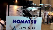 325_コマツ、SKYCATCH-INTERNATIONAL-DRONE-EXPO-第1回-国際ドローン展-幕張メッセ-2015.5.20_K【空撮ドローン】_drone