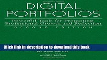 [Popular Books] Digital Portfolios: Powerful Tools for Promoting Professional Growth and