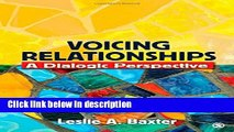 [PDF] Voicing Relationships: A Dialogic Perspective Book Online