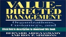 [Read PDF] Value-Directed Management: Organizations, Customers, and Quality Download Free