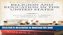 Books The Praeger Handbook of Religion and Education in the United States [2 volumes] Popular Book