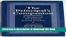 Books The Principal s Companion: A Workbook for Future School Leaders Popular Book