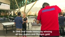 Steffi Graf says her '88 'Golden Slam' can be repeated