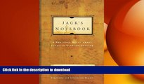 DOWNLOAD Jack s Notebook: A business novel about creative problem solving READ EBOOK