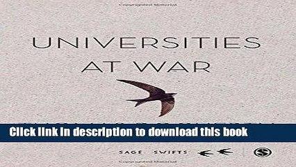 [Fresh] Universities at War (SAGE Swifts) New Ebook