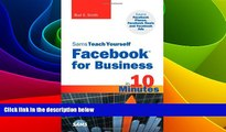 Must Have  Sams Teach Yourself Facebook for Business in 10 Minutes: Covers Facebook Places,