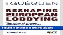 [Read PDF] Reshaping European Lobbying Download Free