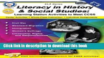 [Popular] Books Literacy in History and Social Studies, Grades 6 - 8: Learning Station Activities
