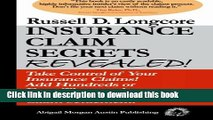 [Popular] Books Insurance Claim Secrets Revealed!: Take Control of Your Insurance Claims! Add