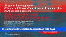 [Fresh] Springer Großwörterbuch Medizin - Medical Dictionary Deutsch-Englisch / English-German